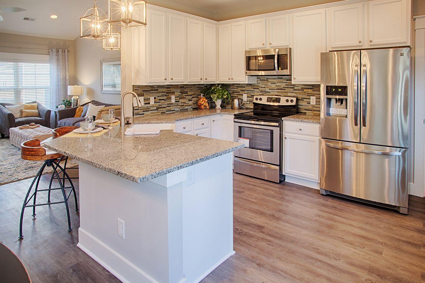 Kitchen featured in The Monterey By Village Park Homes in Savannah, GA