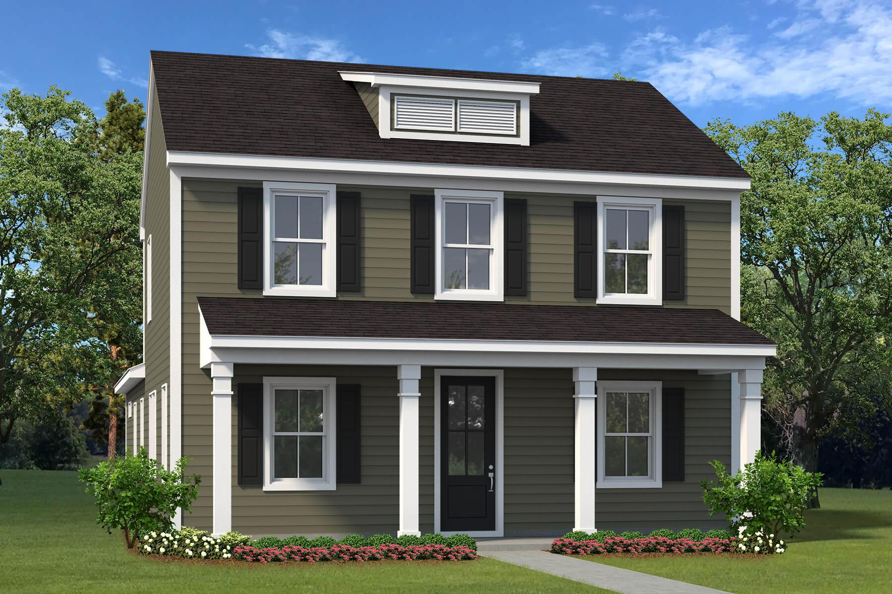 Exterior featured in The Washington II By Village Park Homes in Hilton Head, SC