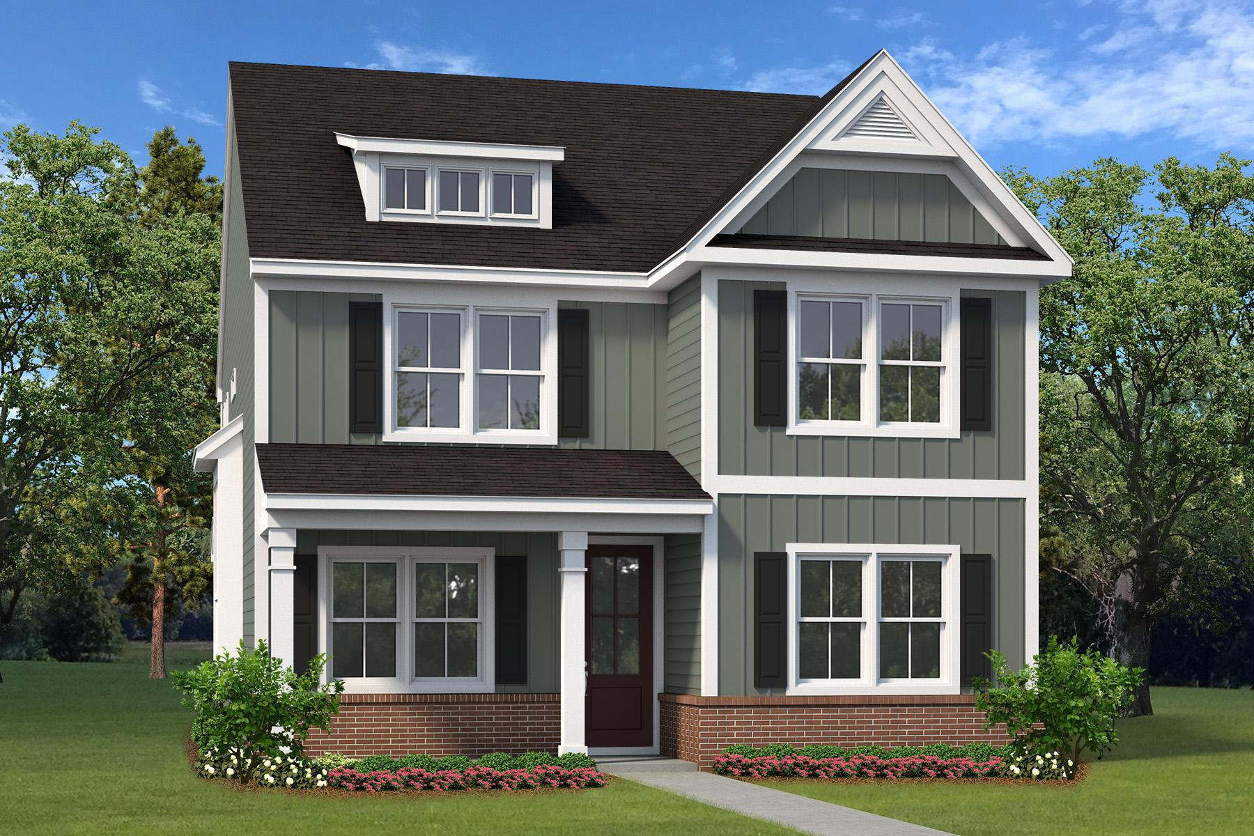 Exterior featured in The Waccamaw II By Village Park Homes in Hilton Head, SC