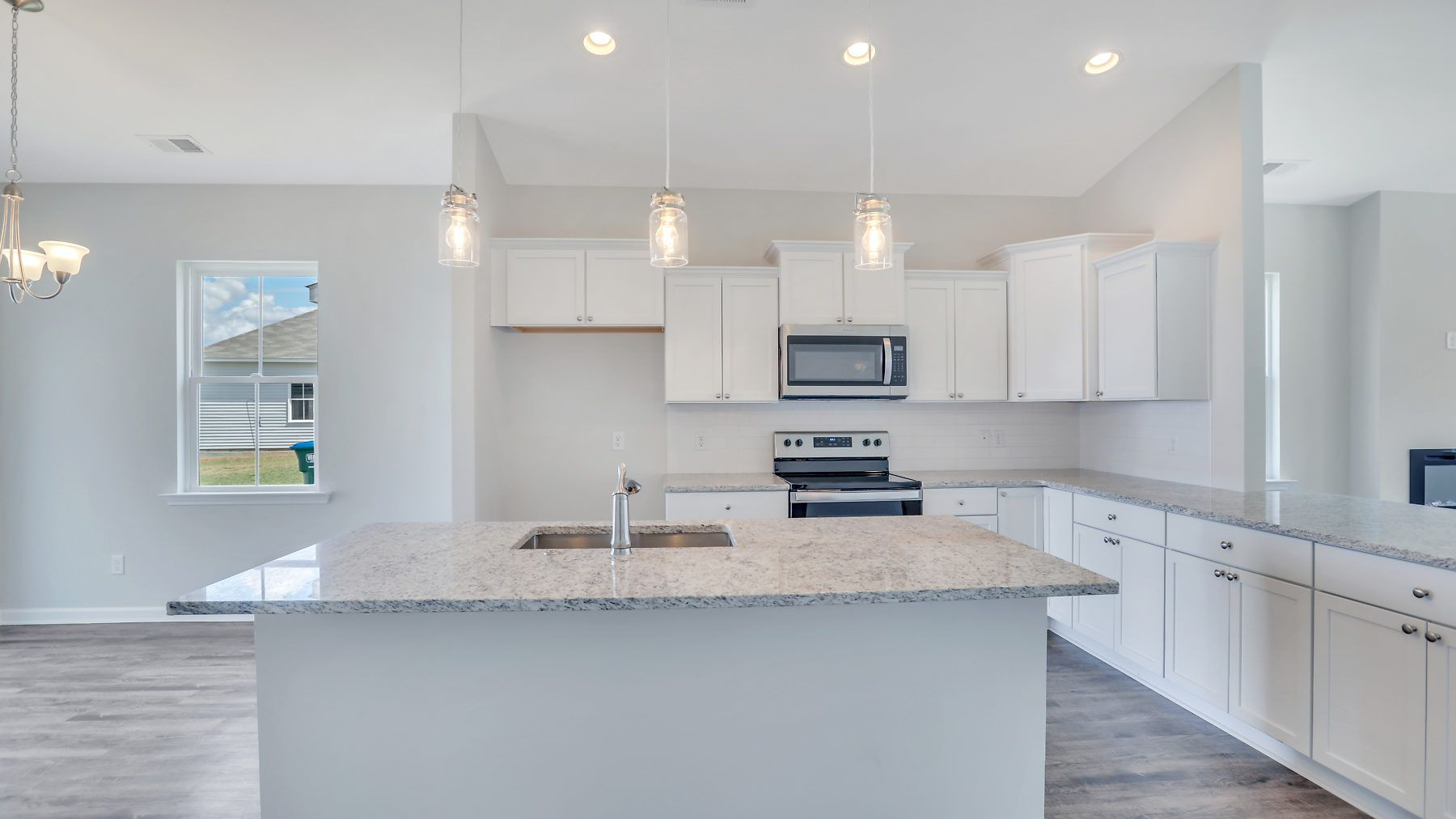 Kitchen featured in The Hampton II By Village Park Homes in Hilton Head, SC