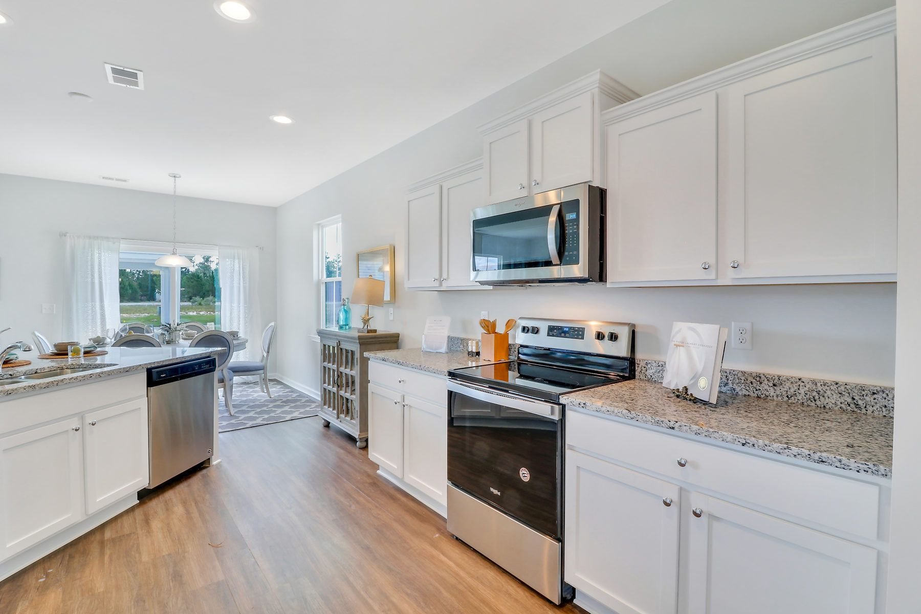 Kitchen featured in The Crawford II By Village Park Homes in Hilton Head, SC