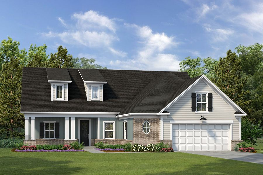Exterior featured in The Brookwood By Village Park Homes in Hilton Head, SC