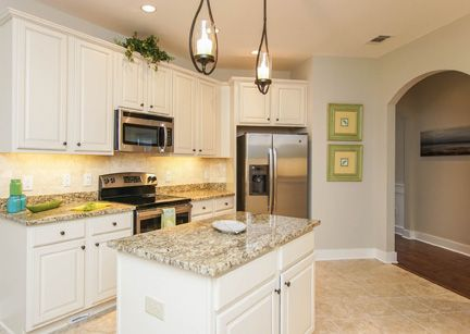 Kitchen-in-The Amelia-at-Southern Oaks at New Riverside-in-Bluffton