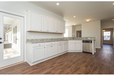 Kitchen-in-The Wylie-at-Alston Park at New Riverside-in-Bluffton