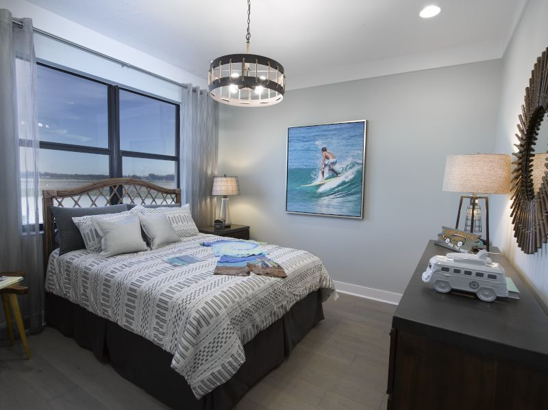 Bedroom featured in the Seaview By Label & Co in Palm Beach County, FL