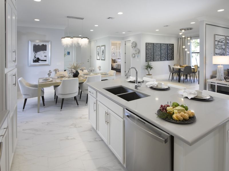 Kitchen featured in the Starfish By Label & Co in Palm Beach County, FL
