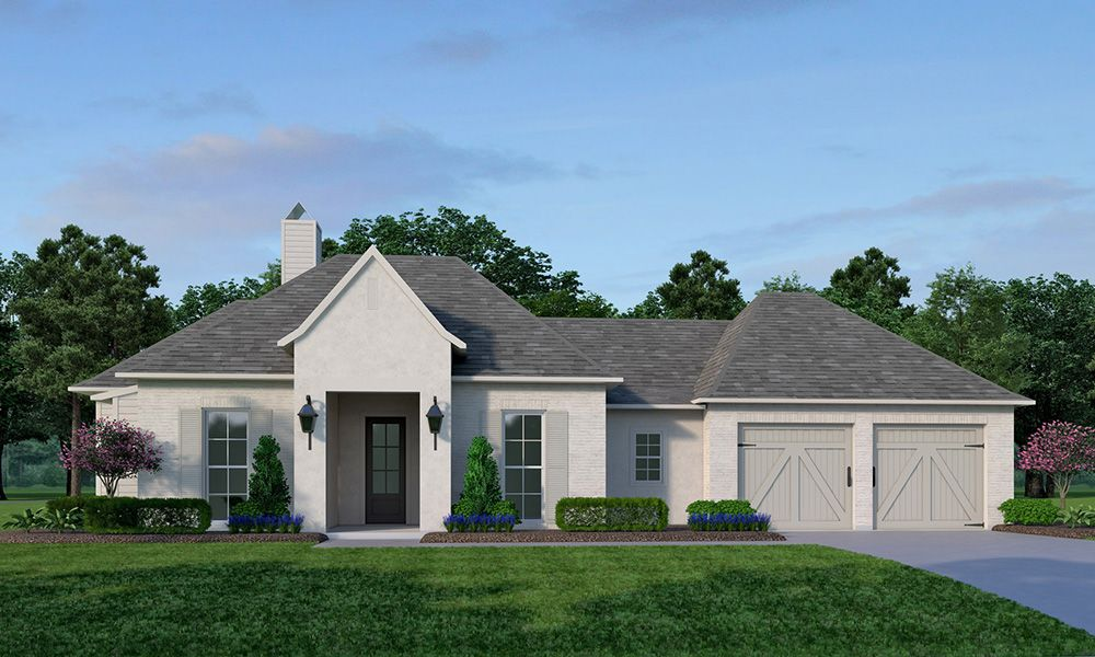 Exterior featured in the Longborough By Vintage Homes in Shreveport-Bossier City, LA