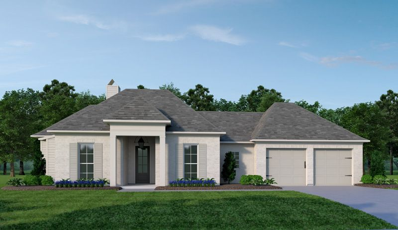 Exterior featured in the Whichford By Vintage Homes in Shreveport-Bossier City, LA