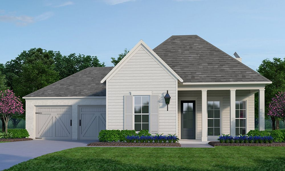 Exterior featured in the Abingdon By Vintage Homes in Shreveport-Bossier City, LA