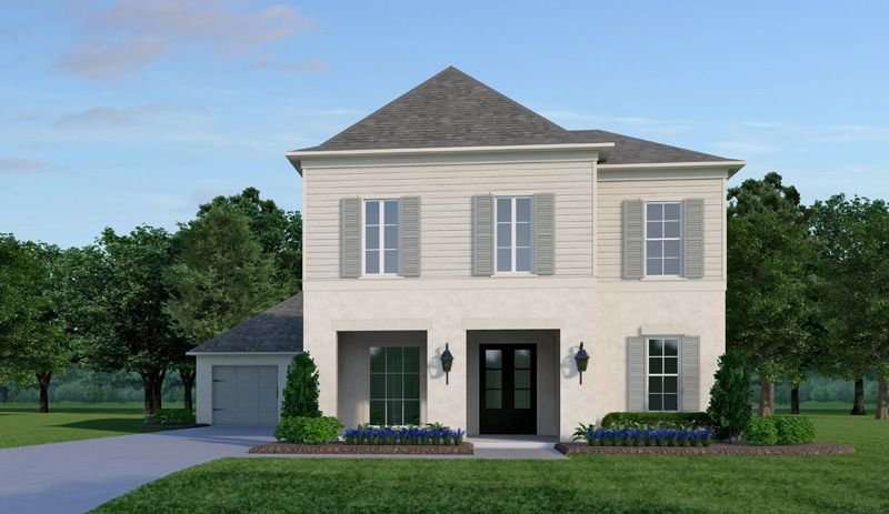 Exterior featured in the Newport By Vintage Homes in Shreveport-Bossier City, LA