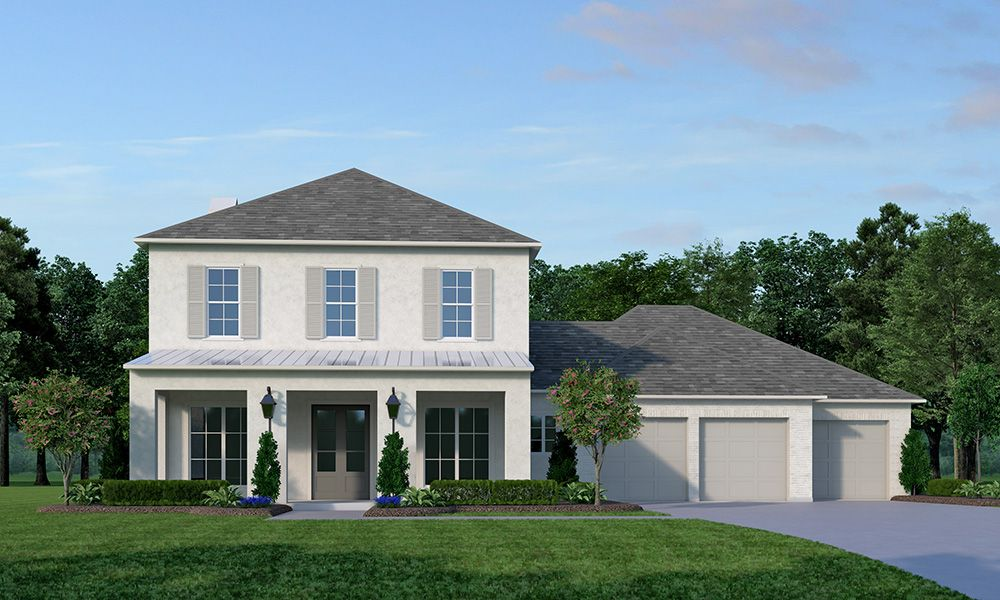 Exterior featured in the Bredon Hill By Vintage Homes in Shreveport-Bossier City, LA