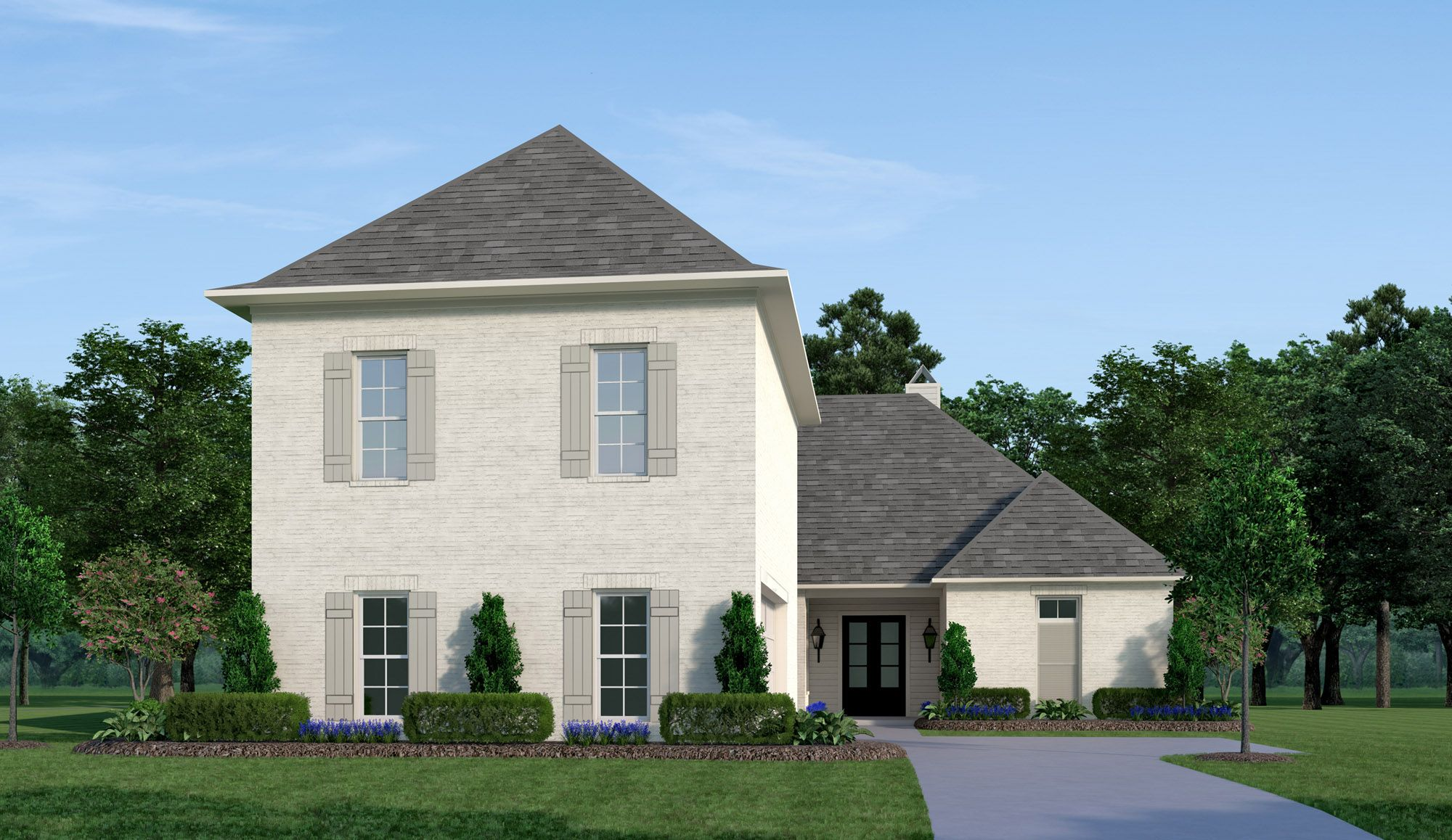 Exterior featured in the Chippenham By Vintage Homes in Shreveport-Bossier City, LA
