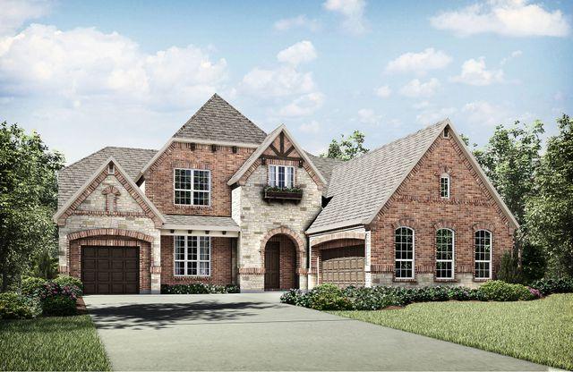 Drees Custom Homes Floor Plans: Brinkley By Drees Custom Homes Plan, Arlington, Texas