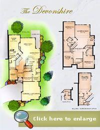 Devonshire - Paradise Terrace At Castle Pines Village: Castle Rock, Colorado - Vision Development Group Inc