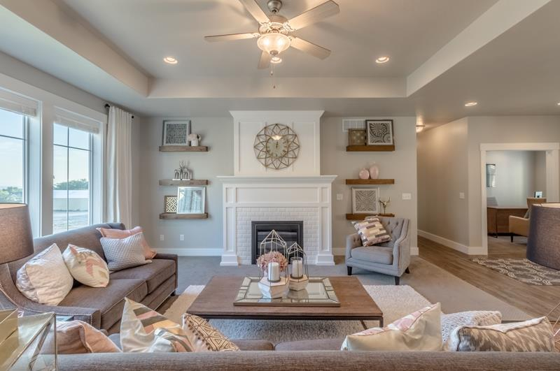 Living Area featured in the Cambridge (SOG) By Visionary Homes in Logan, UT
