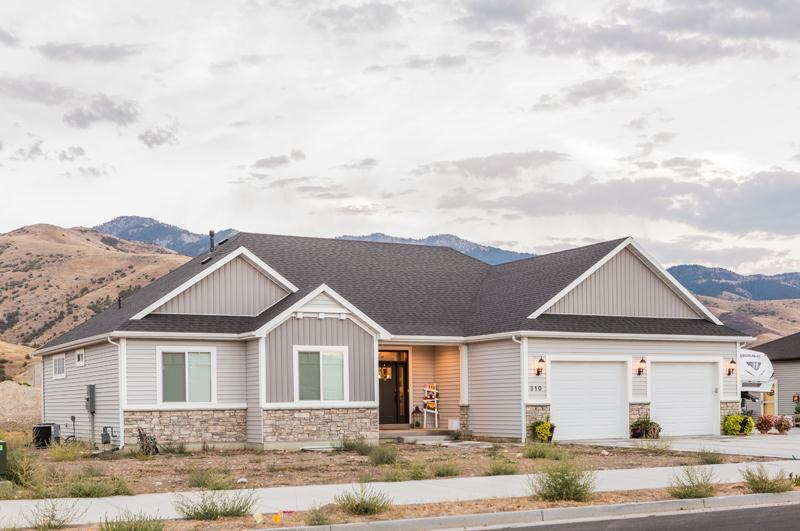 Exterior featured in the Pendleton (SOG) By Visionary Homes in Logan, UT