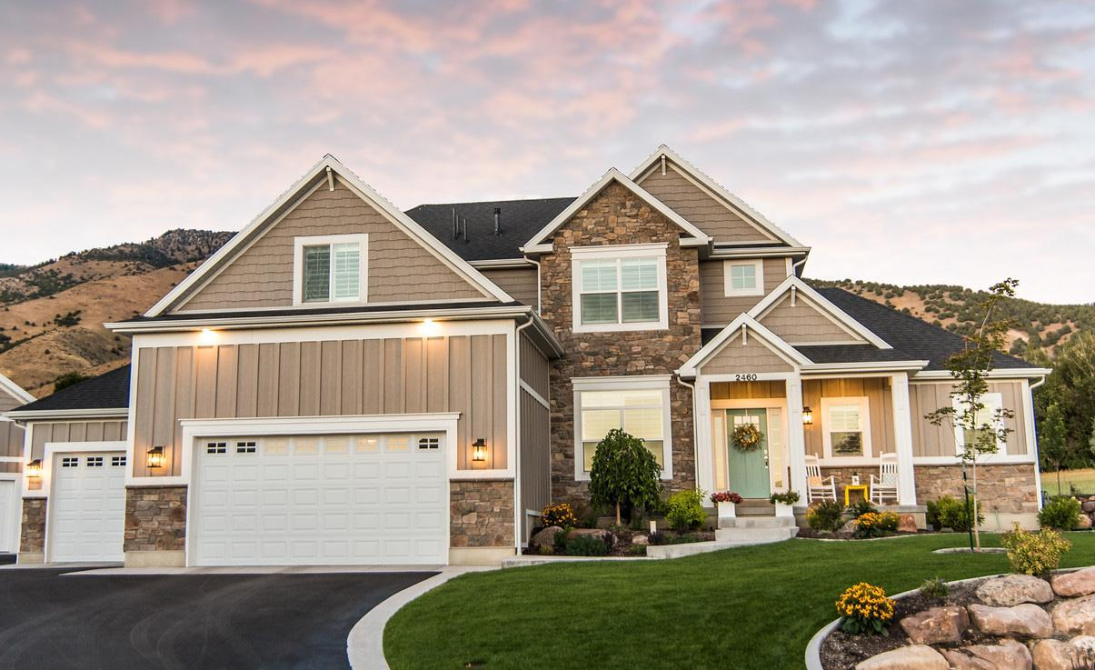 Exterior featured in the Remington (SOG) By Visionary Homes in Logan, UT