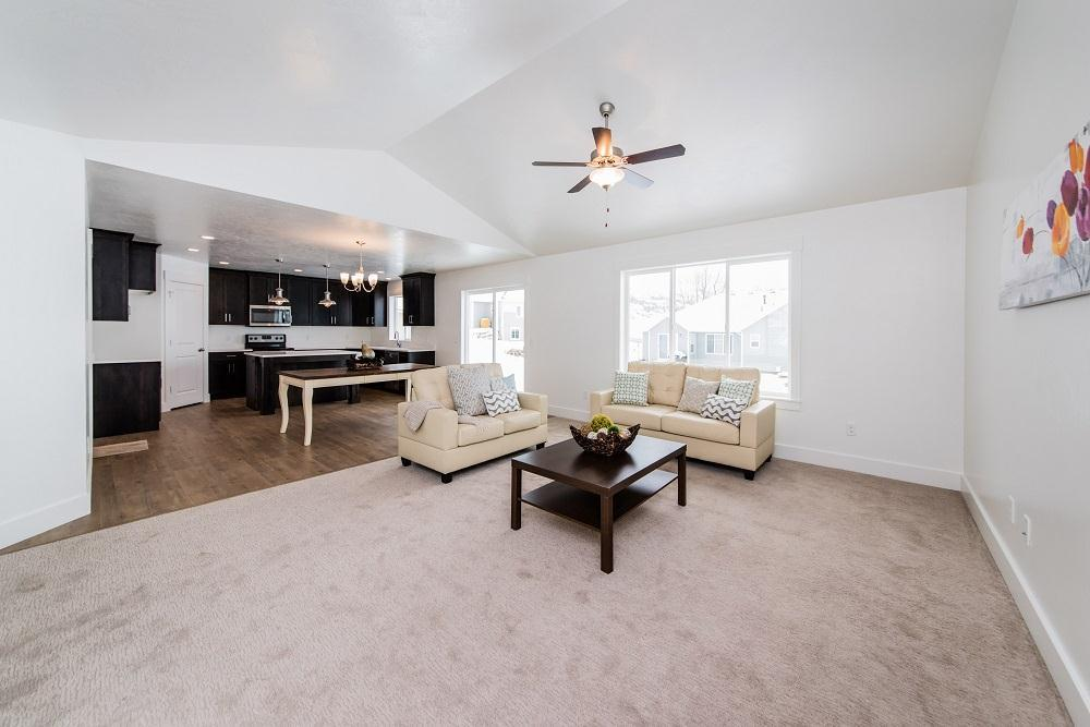 Living Area featured in the Oxford (SOG) By Visionary Homes in Logan, UT