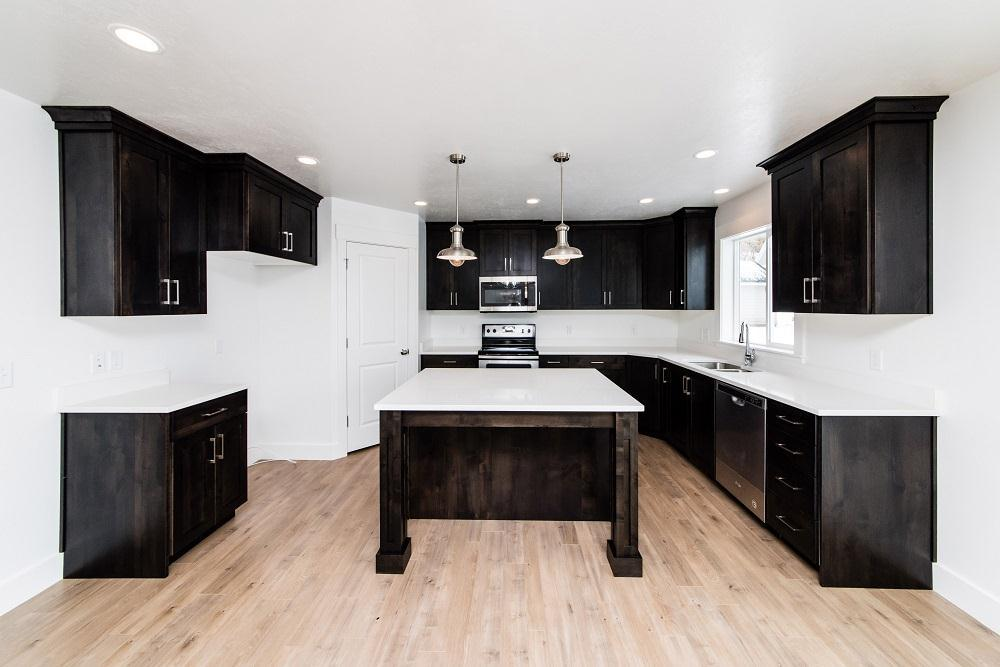Kitchen featured in the Oxford (SOG) By Visionary Homes in Logan, UT