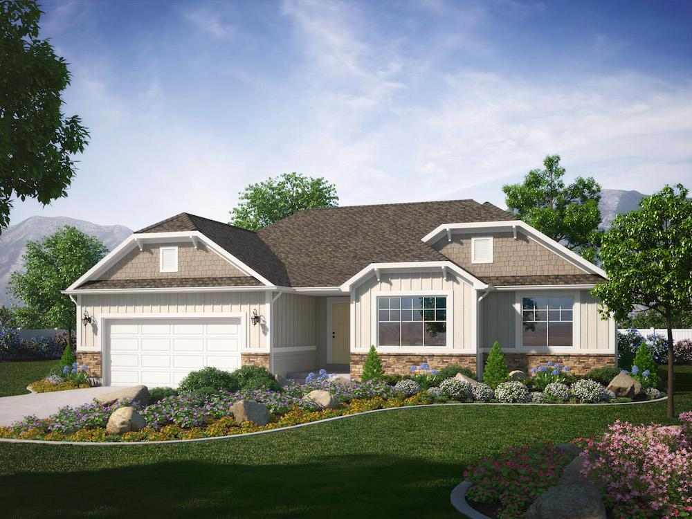 Exterior featured in the Belmont (SOG) By Visionary Homes in Logan, UT