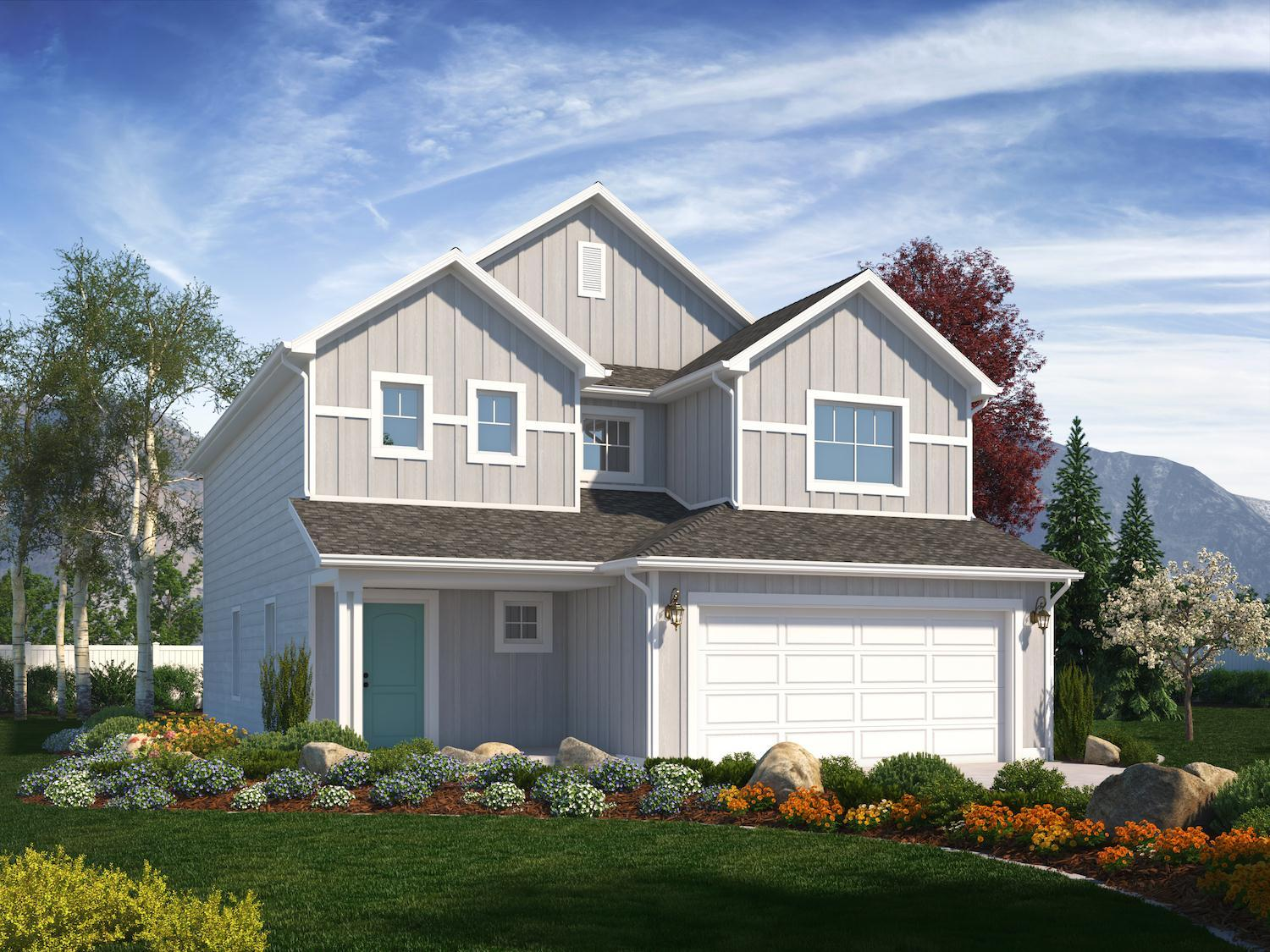 Exterior featured in the Briarwood (SOG) By Visionary Homes in Logan, UT