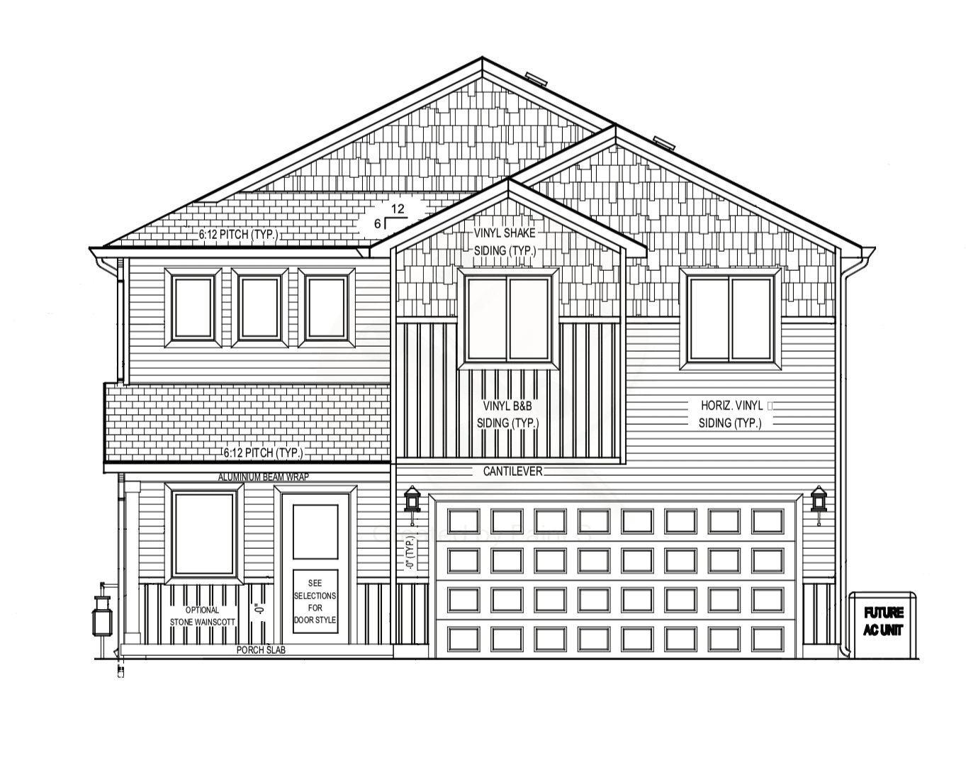Exterior featured in the Madison (SOG) By Visionary Homes in Logan, UT
