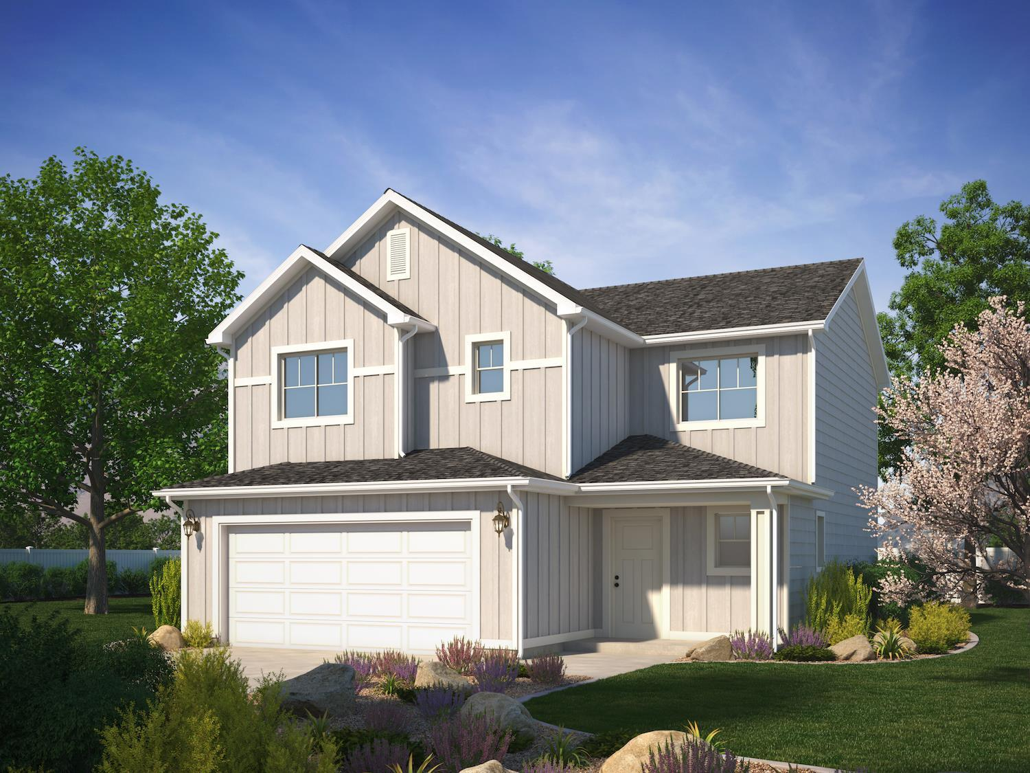 Exterior featured in the Westminster (SOG) By Visionary Homes in Logan, UT