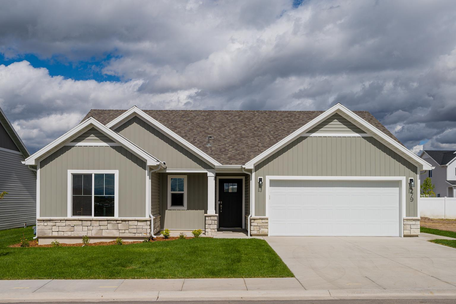 Exterior featured in the Hayden (SOG) By Visionary Homes in Logan, UT