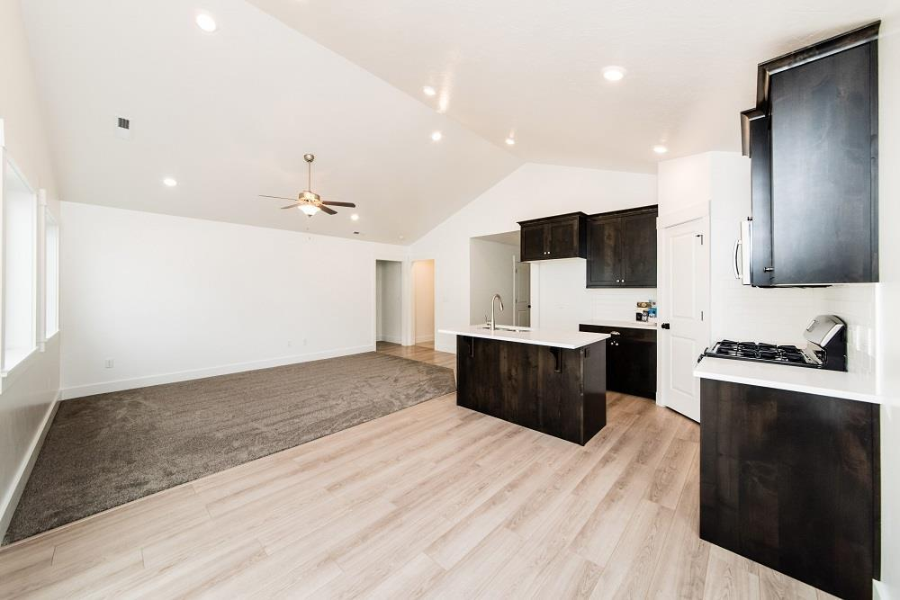 Kitchen featured in the Kennison (SOG) By Visionary Homes in Logan, UT