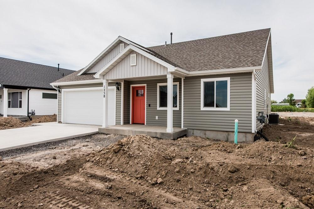 Exterior featured in the Lyndhurst (SOG) By Visionary Homes in Logan, UT
