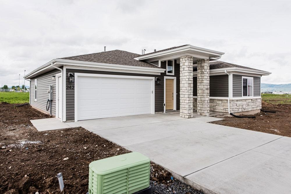 Exterior featured in the Stafford (SOG) By Visionary Homes in Logan, UT