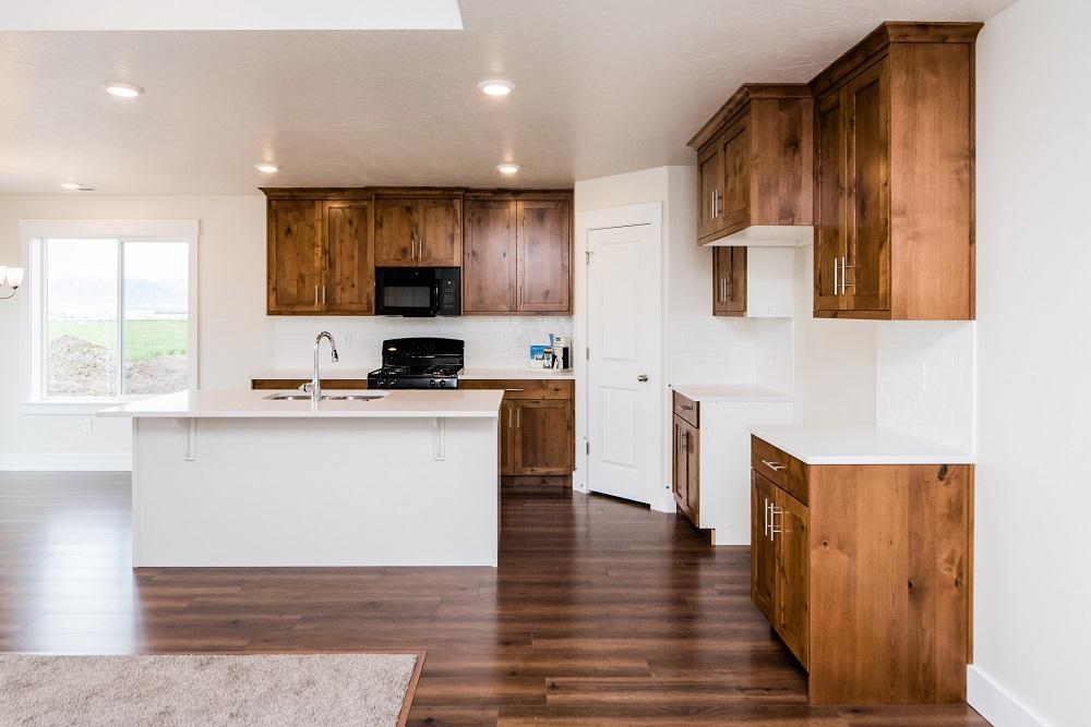 Kitchen featured in the Stafford (SOG) By Visionary Homes in Logan, UT
