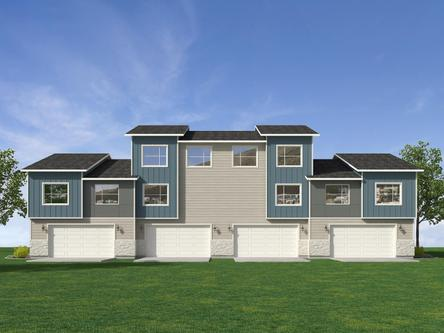 Arrowgate Townhomes by Visionary Homes in Salt Lake City-Ogden Utah
