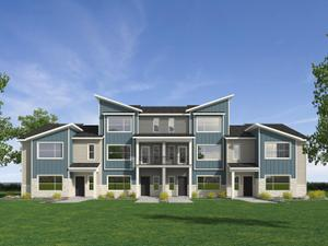 homes in Arrowgate Townhomes by Visionary Homes