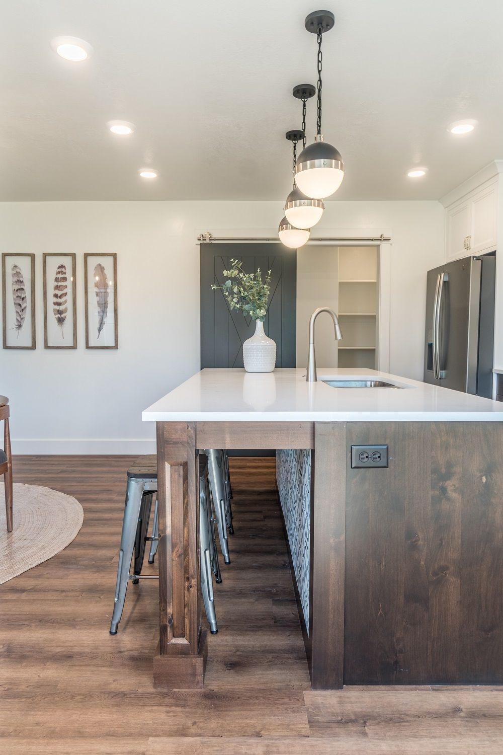 Kitchen featured in the Glendale (Basement)  By Visionary Homes in Logan, UT
