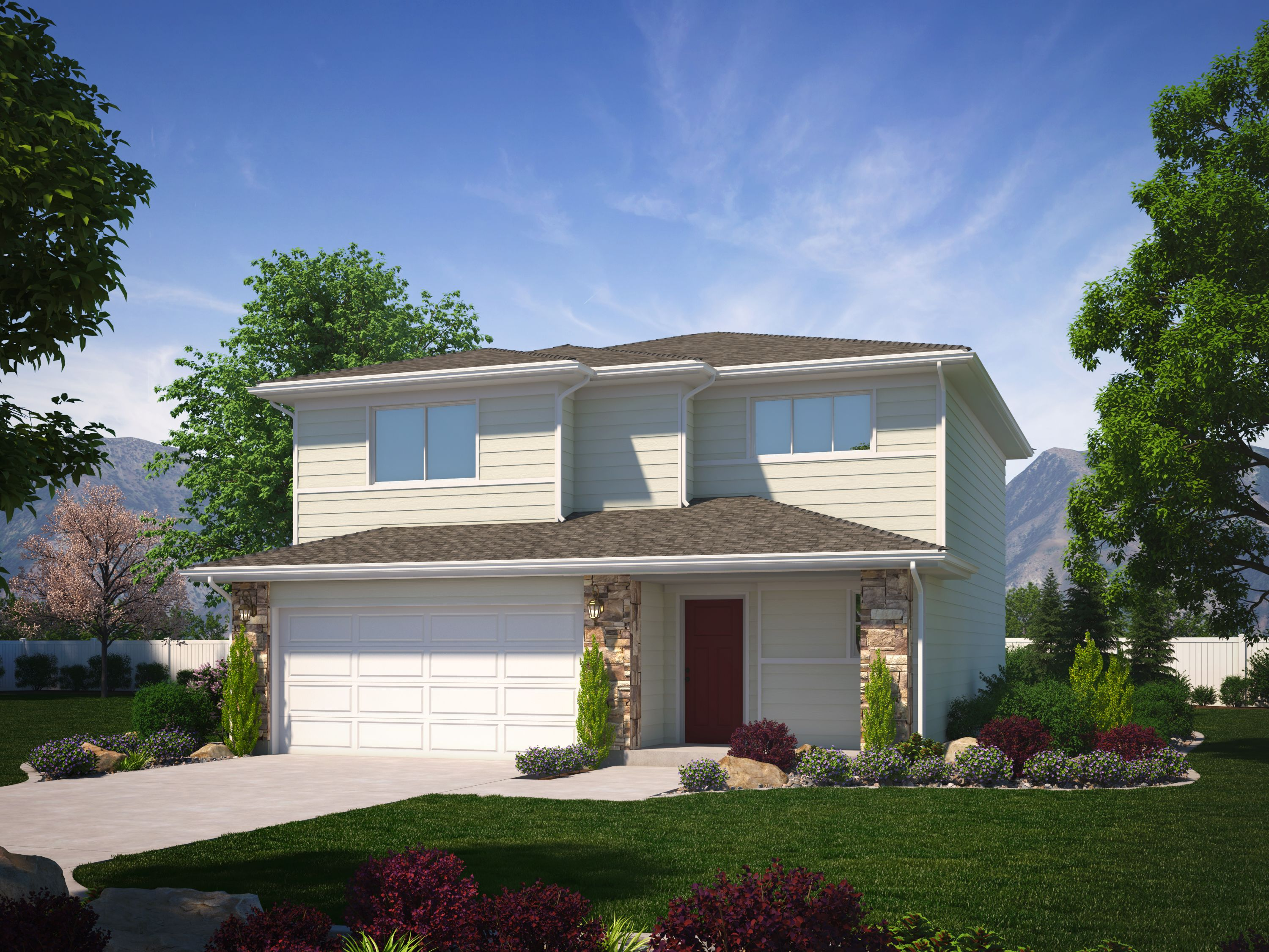 Exterior featured in the Greystone (SOG) By Visionary Homes in Logan, UT