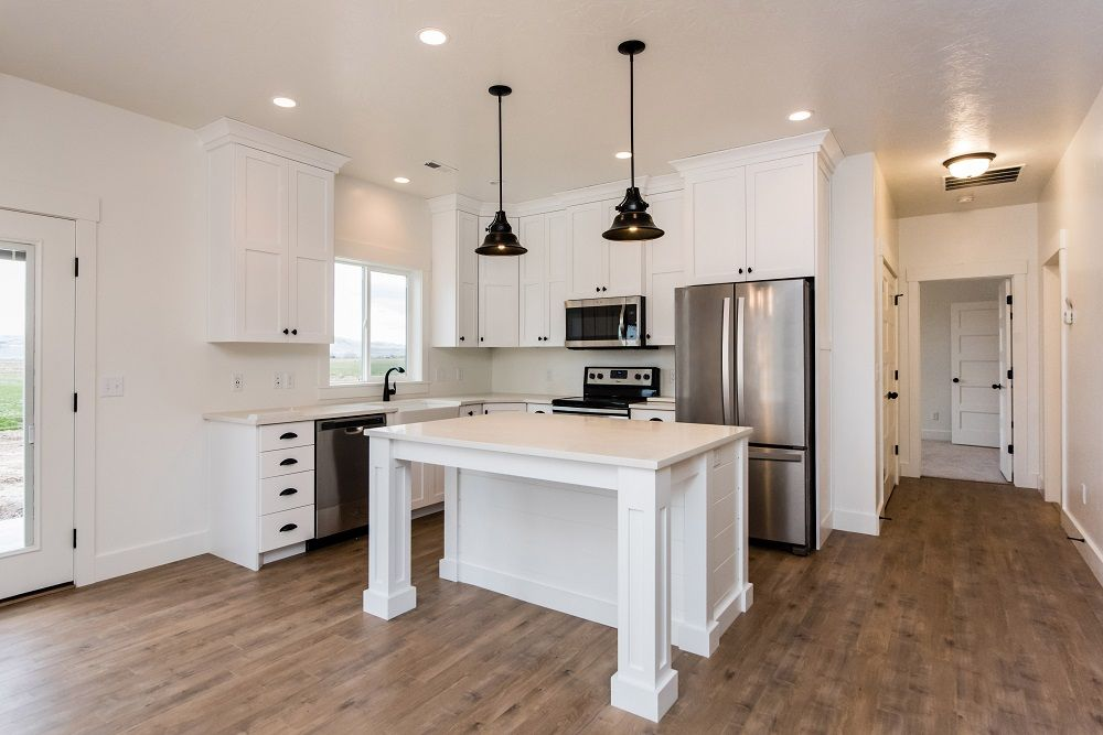 Kitchen featured in the Stewart (Basement) By Visionary Homes in Logan, UT