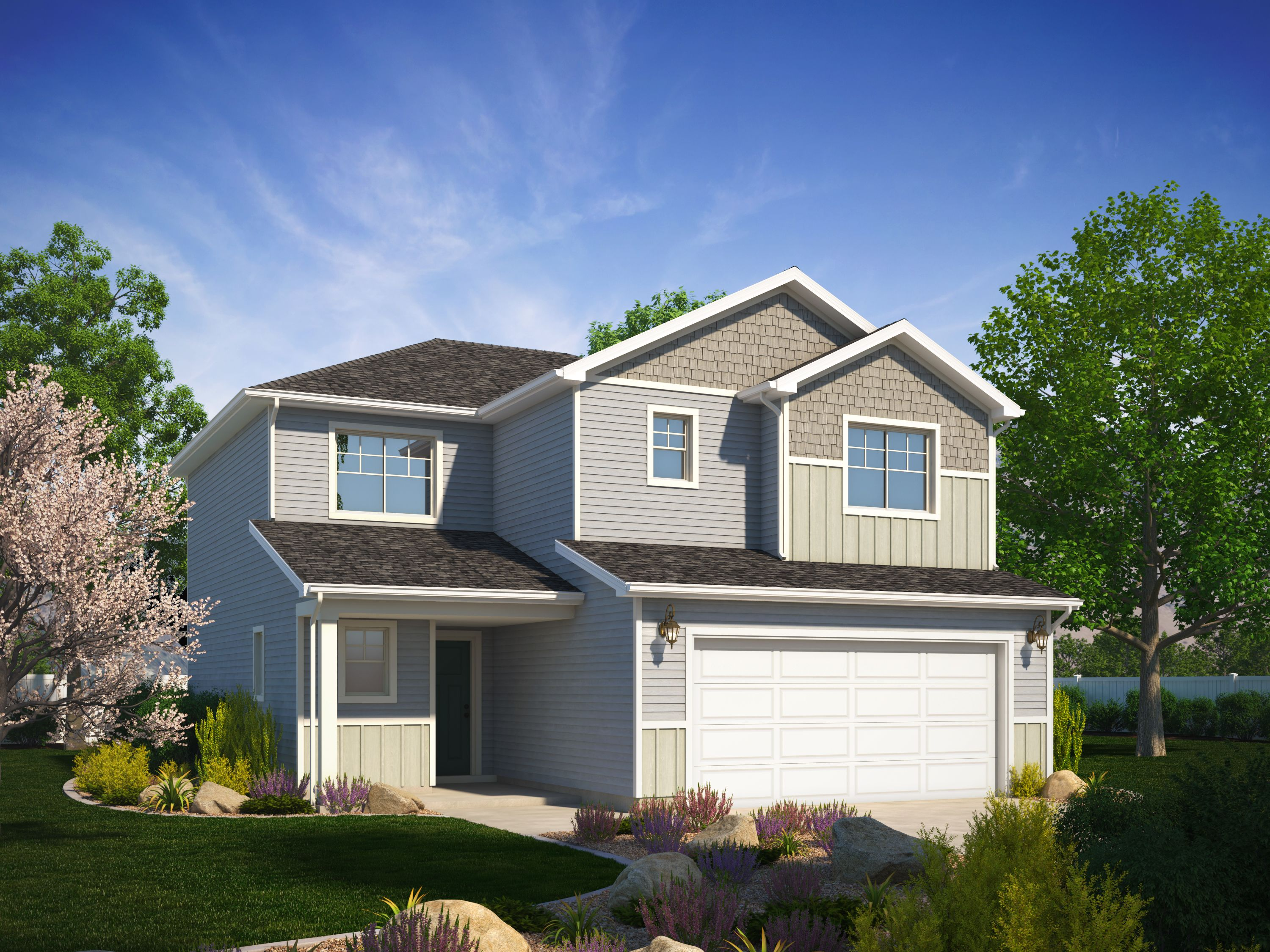 Exterior featured in the Westminster (Basement) By Visionary Homes in Logan, UT