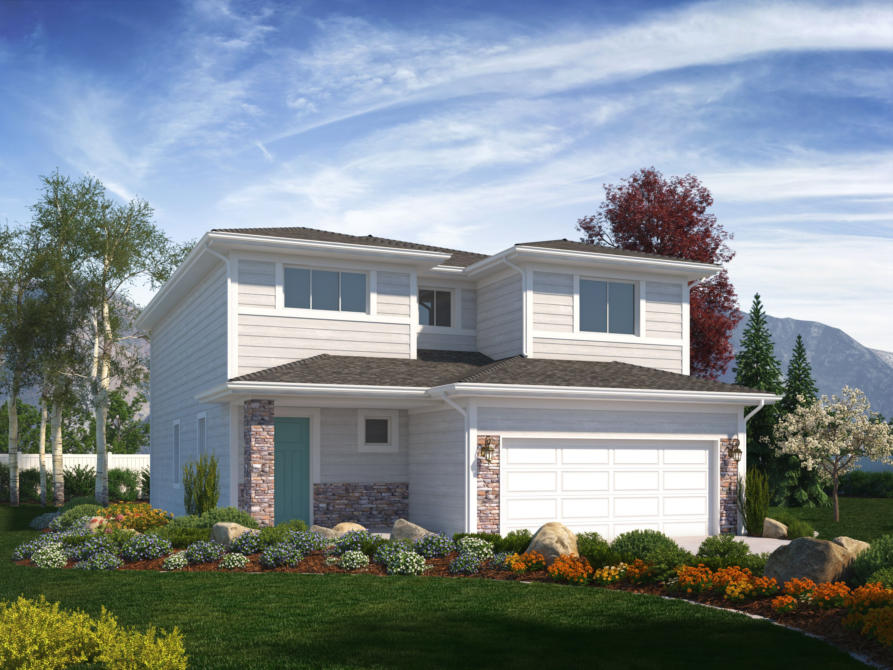 Exterior featured in the Briarwood (Basement) By Visionary Homes in Logan, UT
