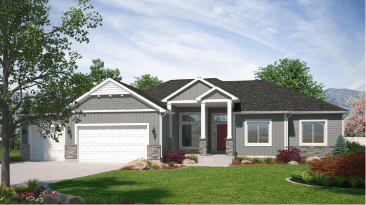 Exterior featured in the Oxford (Basement) By Visionary Homes in Logan, UT
