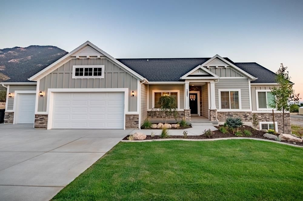 Exterior featured in the Cambridge (Basement)  By Visionary Homes in Logan, UT