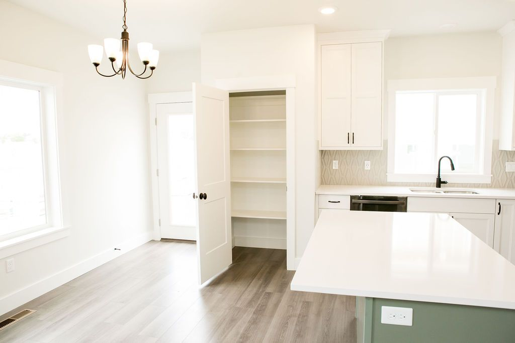 Kitchen featured in the Wellington (SOG) By Visionary Homes in Logan, UT