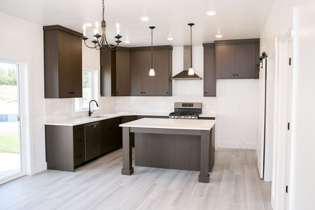 Kitchen featured in the Saddlewood (Basement) By Visionary Homes in Logan, UT