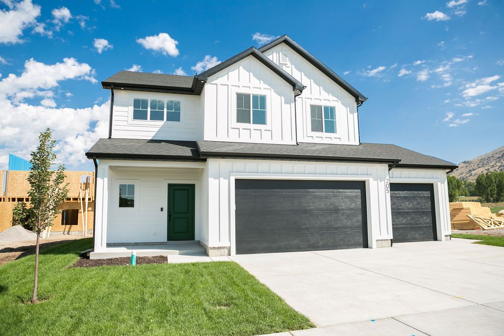 Exterior featured in the Saddlewood (Basement) By Visionary Homes in Logan, UT