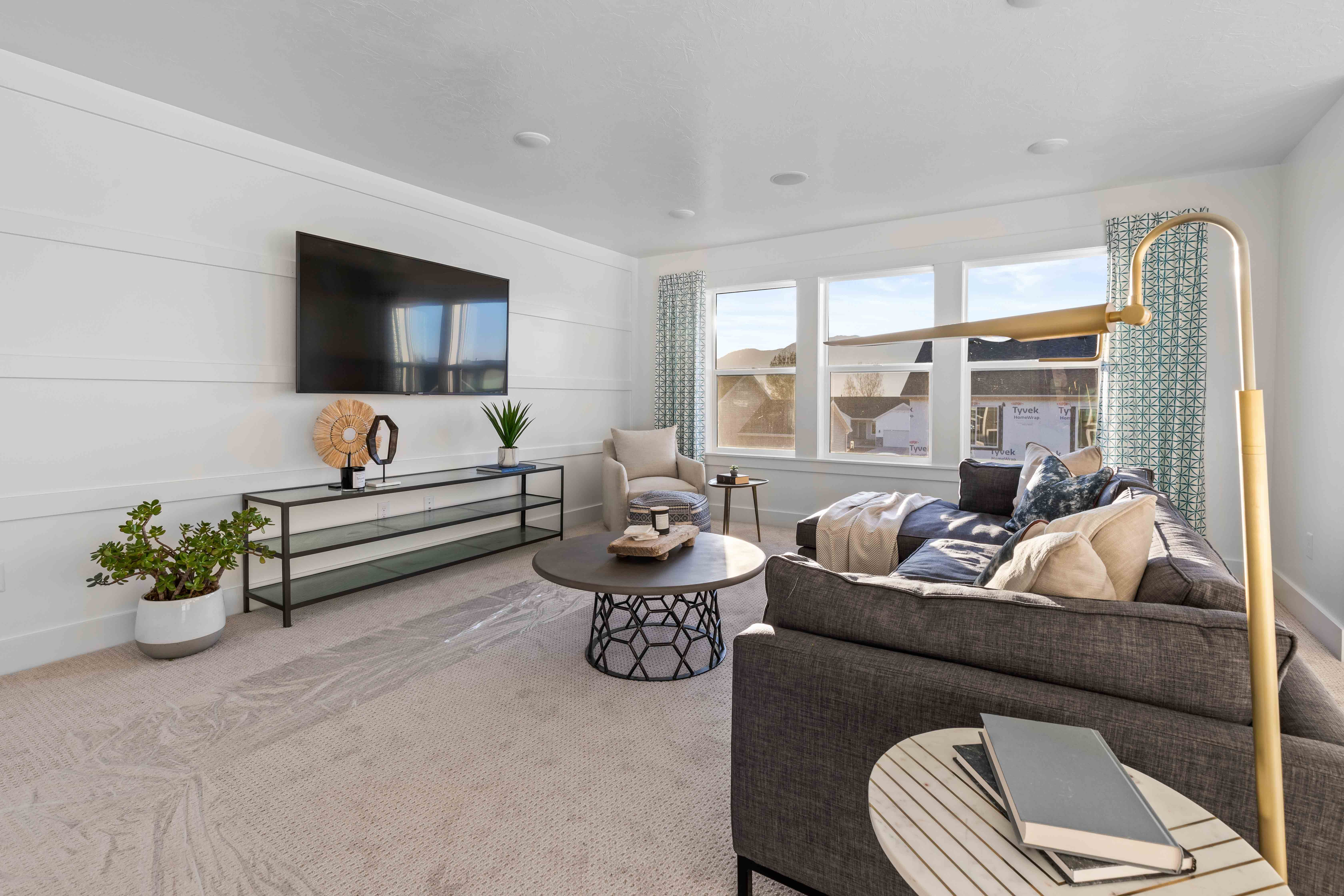 Living Area featured in the Sumac (SOG)  By Visionary Homes in Logan, UT