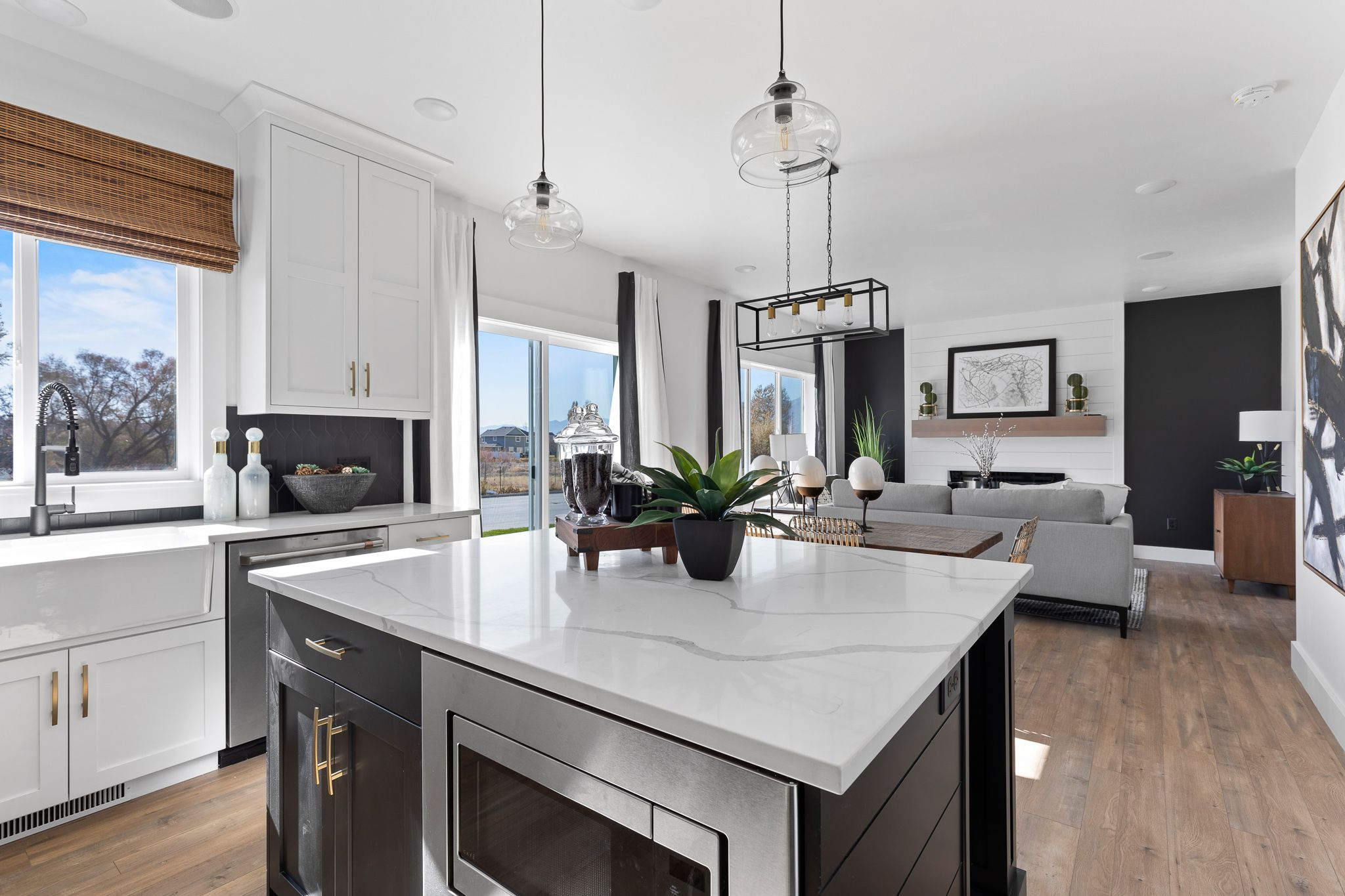 Kitchen featured in the Madison (Basement) By Visionary Homes in Logan, UT