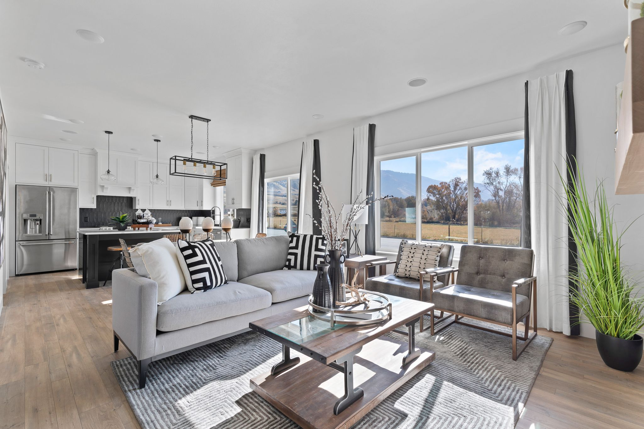 Living Area featured in the Madison (SOG) By Visionary Homes in Logan, UT