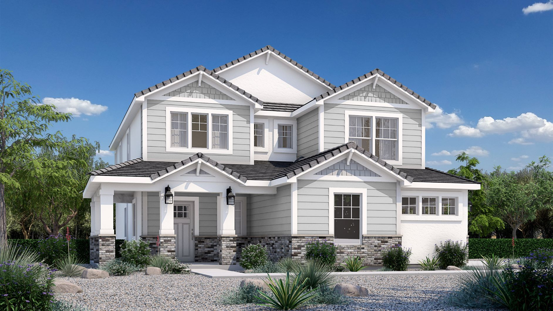 Exterior featured in the Mojave (SOG) By Visionary Homes in St. George, UT
