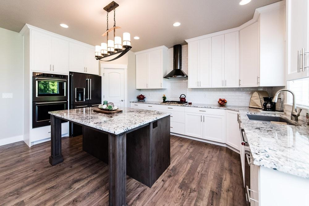Kitchen featured in the Cambridge (Basement)  By Visionary Homes in Logan, UT