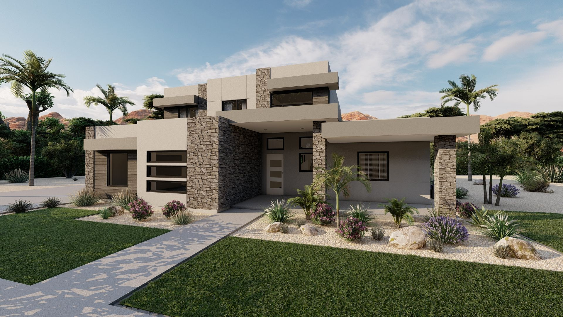 Exterior featured in The Ponderosa (SOG) By Visionary Homes in St. George, UT